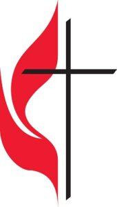 Methodist logo. cross & flame.2