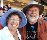 Mark and Bonnie at Giants game