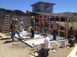 House building in Tecate