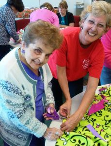Compassion Week 2015 blanket making