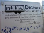 Dignity on Wheels shower trailer